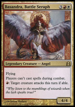 Basandra, Battle Seraph, Commander
