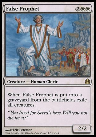 False Prophet, Commander
