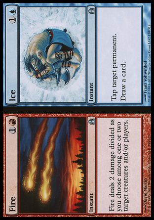 Fire // Ice, Commander
