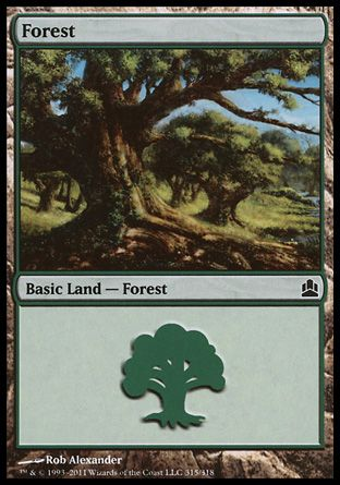 Forest, Commander