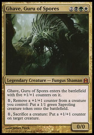 Ghave, Guru of Spores, Commander