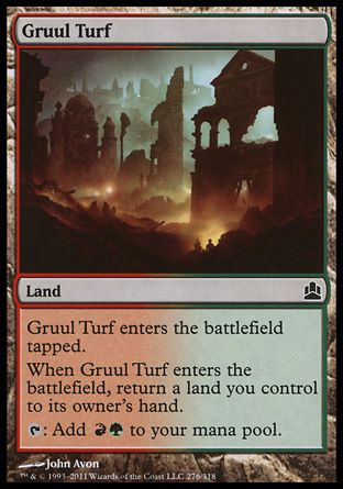 Gruul Turf, Commander