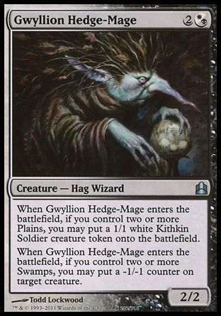 Gwyllion Hedge-Mage, Commander