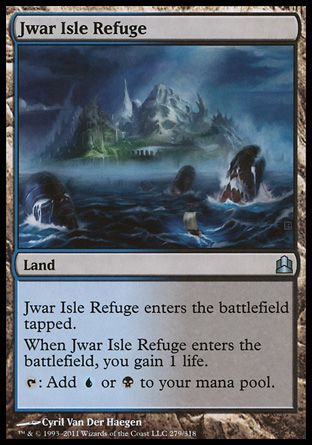 Jwar Isle Refuge, Commander
