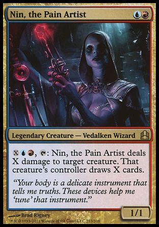 Nin, the Pain Artist, Commander