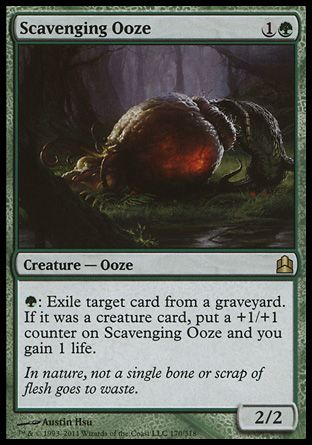 Scavenging Ooze, Commander