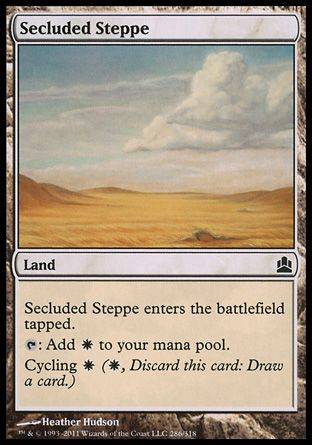 Secluded Steppe, Commander