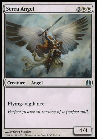 Serra Angel, Commander