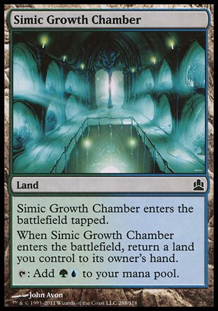 Simic Growth Chamber, Commander