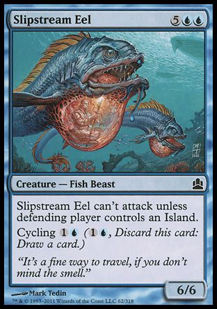 Slipstream Eel, Commander