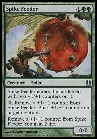 Spike Feeder, Commander