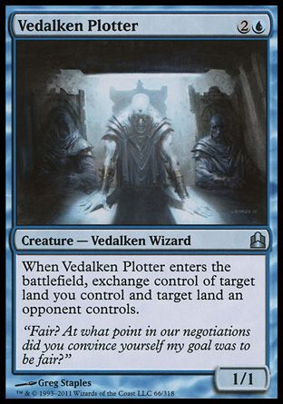 Vedalken Plotter, Commander