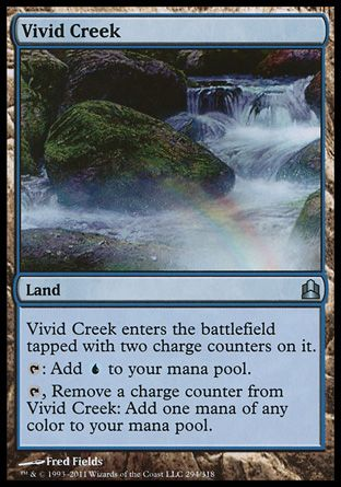 Vivid Creek, Commander