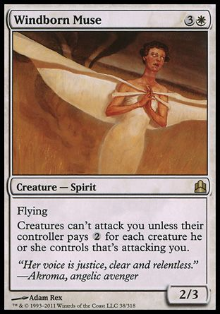 Windborn Muse, Commander
