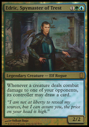 Edric, Spymaster of Trest, Commanders Arsenal
