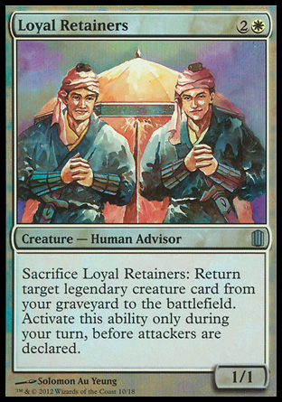 Loyal Retainers, Commanders Arsenal