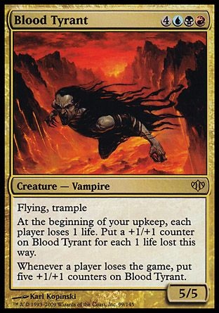 Blood Tyrant, Conflux