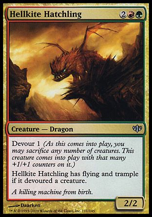 Hellkite Hatchling, Conflux