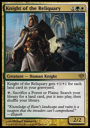 Knight of the Reliquary, Conflux