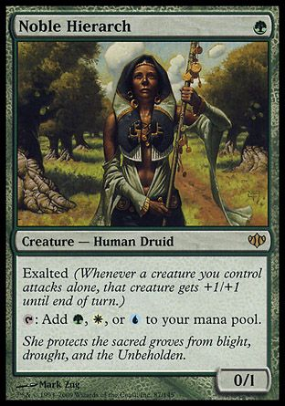 Noble Hierarch, Conflux
