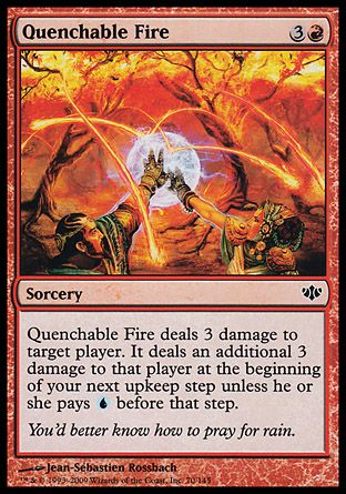Quenchable Fire, Conflux