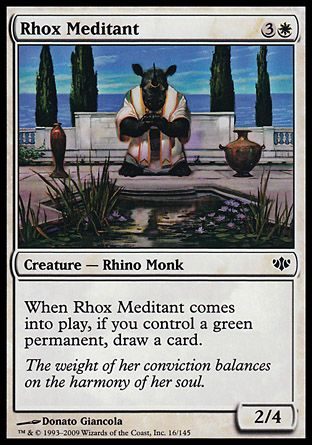 Rhox Meditant, Conflux