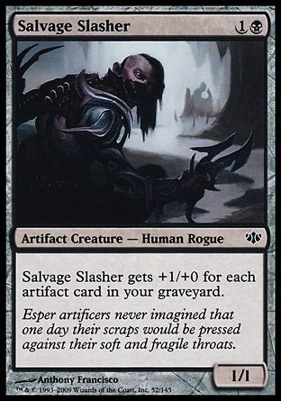 Salvage Slasher, Conflux