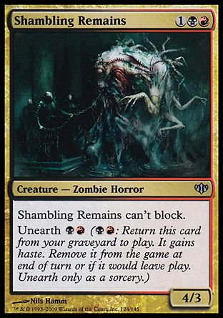 Shambling Remains, Conflux