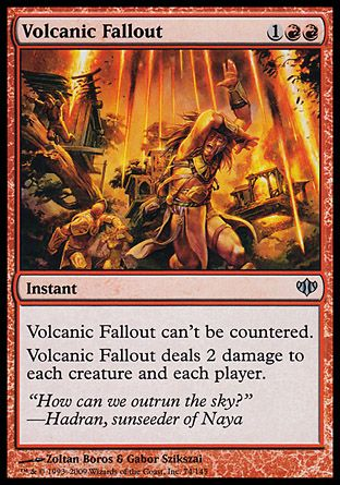 Volcanic Fallout, Conflux