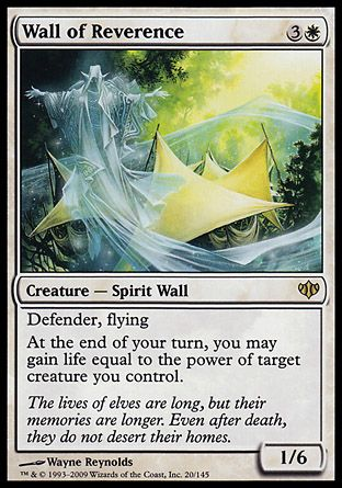 Wall of Reverence, Conflux