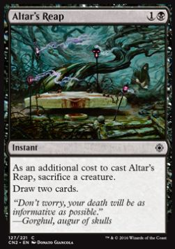 Altar's Reap, Conspiracy Take the Crown
