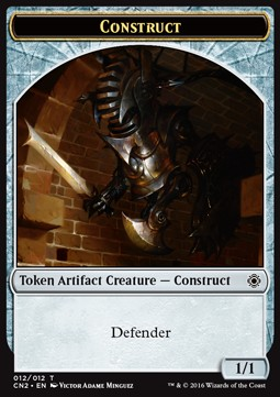 Construct Token, Conspiracy Take the Crown