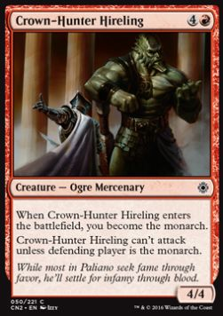 Crown-Hunter Hireling, Conspiracy Take the Crown
