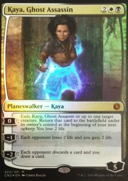 Kaya, Ghost Assassin, Conspiracy Take the Crown