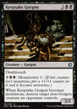 Keepsake Gorgon, Conspiracy Take the Crown
