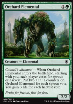 Orchard Elemental, Conspiracy Take the Crown