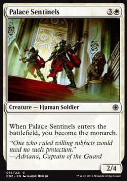 Palace Sentinels, Conspiracy Take the Crown