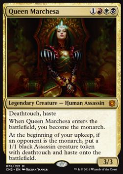 Queen Marchesa, Conspiracy Take the Crown