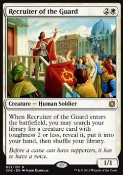Recruiter of the Guard, Conspiracy Take the Crown