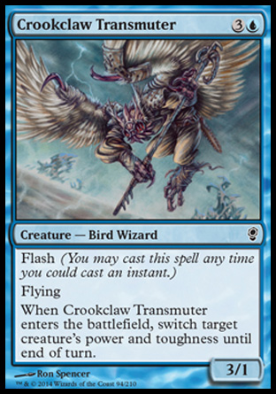 Crookclaw Transmuter, Conspiracy