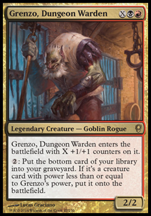Grenzo, Dungeon Warden, Conspiracy