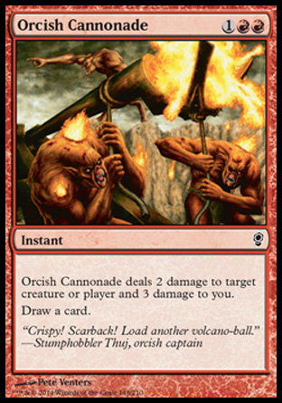 Orcish Cannonade, Conspiracy