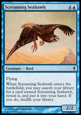 Screaming Seahawk, Conspiracy
