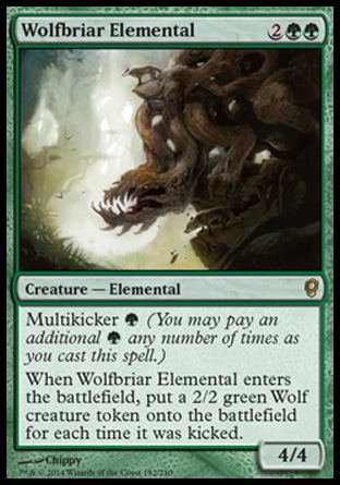 Wolfbriar Elemental, Conspiracy