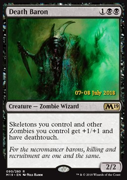 Death Baron, Core 2019 Promos