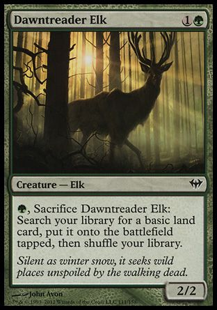 Dawntreader Elk, Dark Ascension