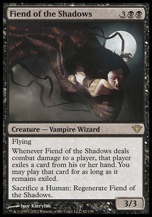 Fiend of the Shadows, Dark Ascension