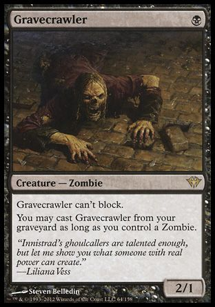 Gravecrawler, Dark Ascension