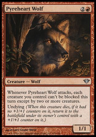 Pyreheart Wolf, Dark Ascension