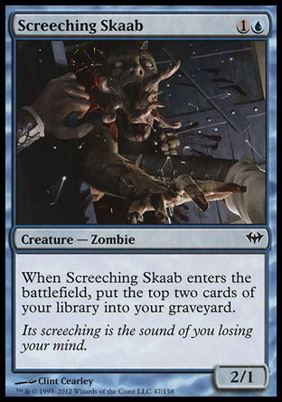 Screeching Skaab, Dark Ascension